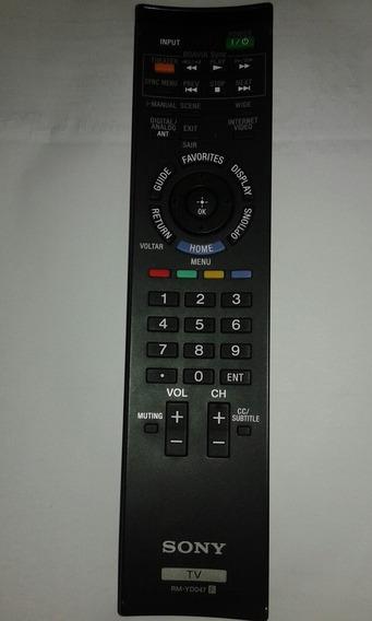 Controle Original Tv Sony Rm-yd047 Repõe Tm-yd048, Rm-yd064