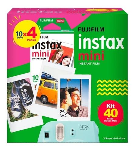 Filme Para Instax Mini 9 8 7s Pacote Com 40 Fotos 54x86mm
