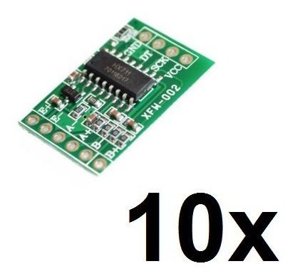 10x Módulo Conversor Amplificador Hx711 24bit Balanças!
