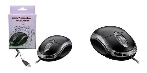 Kit C/ 2 Mouses Ópticos Usb - Lendex (ld-mo101)