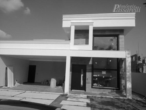Casa Residencial À Venda, Condomínio Bosque Dos Cambarás, Valinhos. - Ca1769