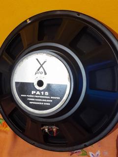 X-pro Pa15 Parlante Woofer 15 200w Rms 8 Ohms