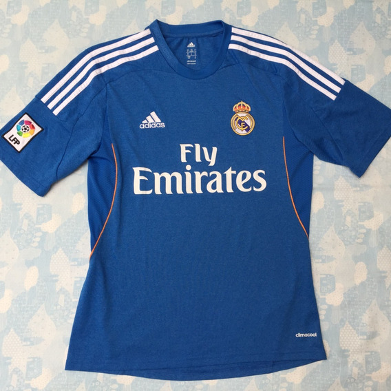 Z29405 Camisa adidas Real Madrid Away 13/14 P Azul Fn1608