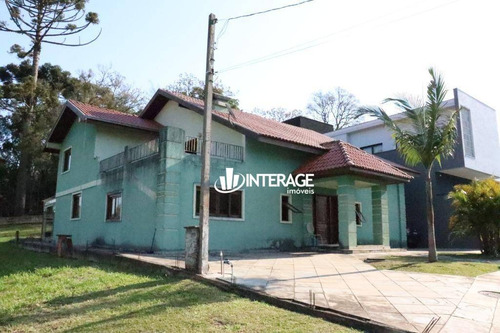 Casa Com 4 Dormitórios À Venda, 413 M² Por R$ 1.450.000,00 - Santa Felicidade - Curitiba/pr - Ca0447