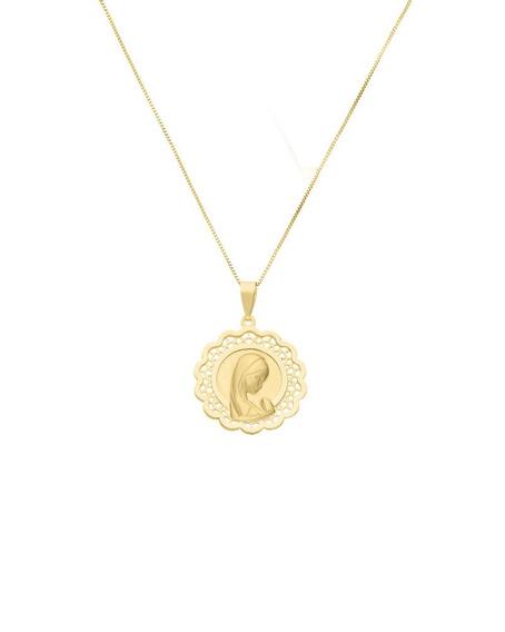 Medalla Bizzarro De Madona Sin Cadena De Oro Amari-00007590y