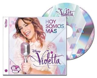 Cd Disney Violetta Hoy Somos Mas - Refurbished Outlet