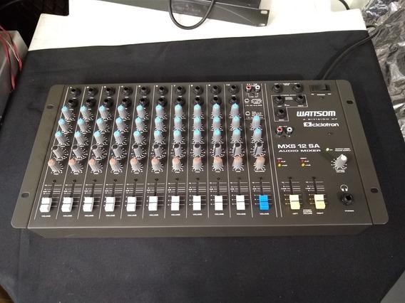 Mesa De Som Wattson Mxs 12 Sa Ñ Behringer Leacs Yamaha Jbl