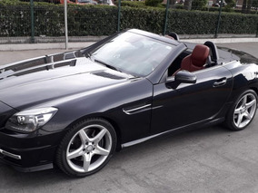 Mercedes-benz Clase Slk200 Cgi Aut. 2016 Negro