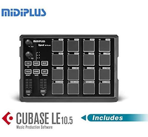 Controlador Xpad Usb Midi Drum Pad Con Cubase Le