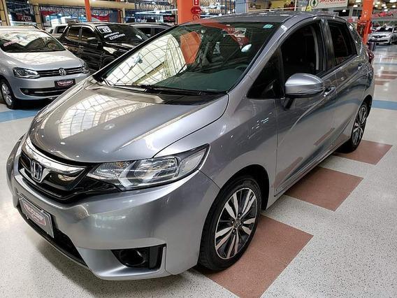 Honda Fit Ex 1.5 Automático Cvt + Couro ! Com 61mkm