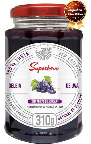 Geleia De Uva 310g - Superbom.