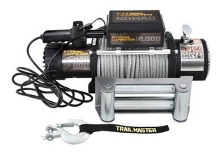 Winch 12000 Lbs Trail Master Jeep Wrangler Accesorios