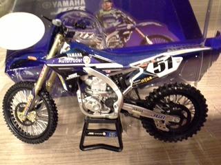 Miniatura Moto Yamaha Jgr Mx Justin Barcia #51 New Ray 1:12