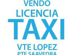 Transf Licencia Taxi Vicente Lopez Pte Saavedra Oportunidad!