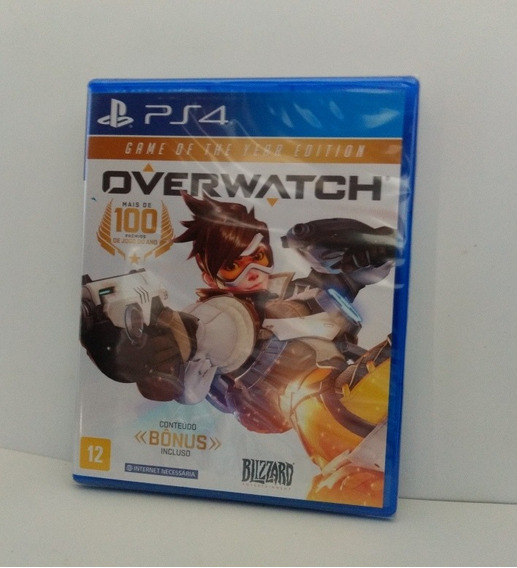 Overwatch Game Of The Year Edition Ps4 Midia Fisica Lacrado