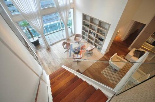 Imagem 1 de 21 de Ref: 11.939  Lindo Apartamento Com 210 M², 4 Dorms. ( Sendo 3 Suítes), Todo Decorado E Mobiliado, Lazer Completo No Bairro Brooklin. - 11939