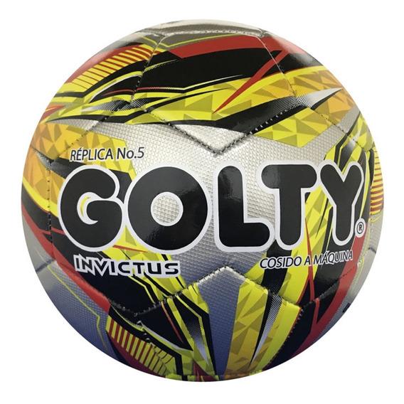 Balón De Fútbol Golty No Profesional Invictus No 5