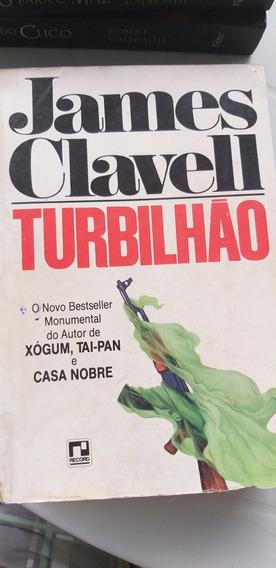James Clavell Livro Turbilhão Bestseller