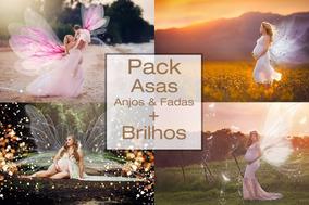 Pack Com 1600 Efeitos + Pack De Asas + 300 Sparkles