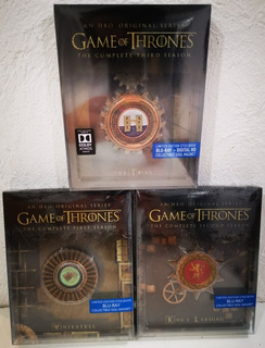 Steelbooks Blu-ray - Game Of Thrones, Temp. 1, 2 Y 3 - L Edi