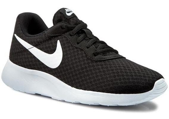 Nike Tanjun Negro Blanco Dama Y Caballero