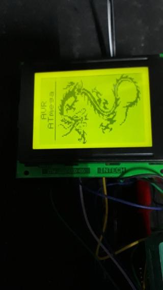 Display Gráfico 128 X 64 Intech Itm 12864k0-05