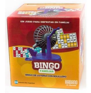 Bingo Familiar Con Bolillero 1003 Tombola Loteria Edu