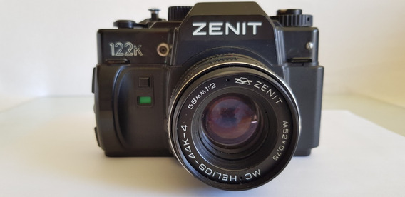Câmera Analógica Zenit 122k - Encaixe Pentax