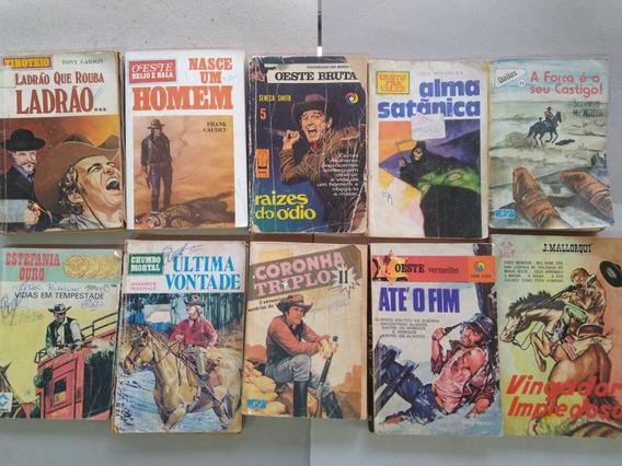 Livros De Bolso Faroeste Antigo Bolsilivros, Raros