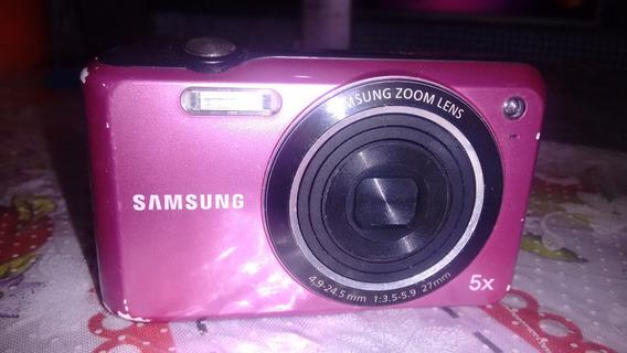 Câmera Fotográfica Samsung Es68 Usada Sem Carregador.