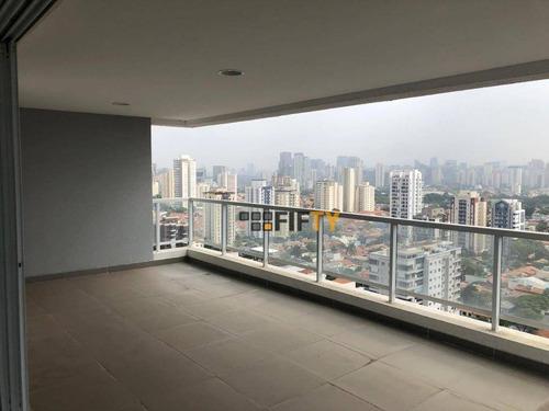 Apartamento À Venda, 250 M² Por R$ 3.600.000,00 - Santo Amaro - São Paulo/sp - Ap41528