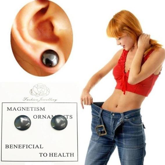 Aretes Magnéticos, Himanoterapia (material De Hematita)