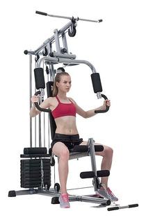 Multi-gym Multigimnasio Reforzado Everlast Con Pesas Envio