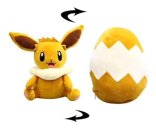 Pelúcia Eevee Ovo Pokémon 30cm