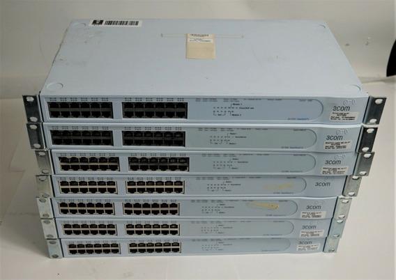 Switch Gerenciável 3com 24 Portas 10/100