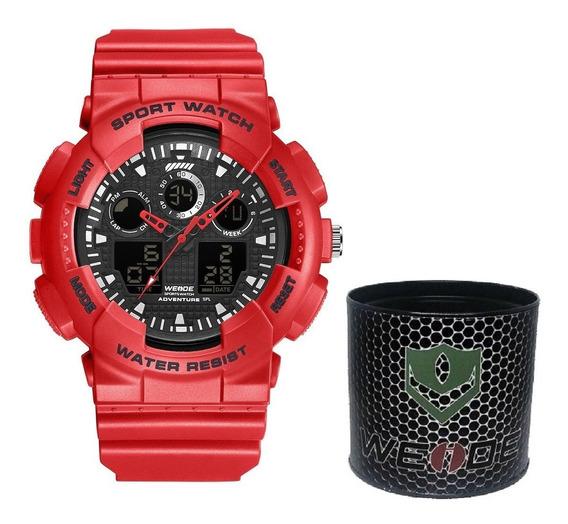 Relógio Masculino Esportivo A Prova D´água Original D131