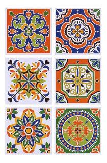 Azulejos Autoadhesivos Vinilo Muresco 16211 X 6 Unidades