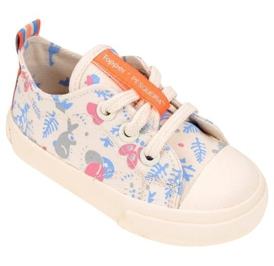 Zapatillas Topper Pasitos Pesqueira Kids Bebé Casual Urbana