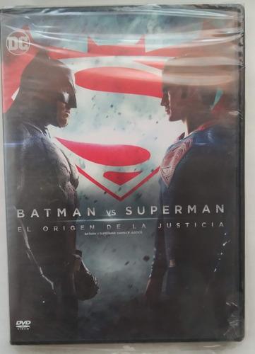 Imagen 1 de 3 de Batman Vs Superman - Zack Snyder - Dvd Original Zona 4