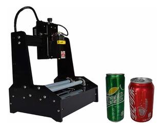Grabadora Laser Para Cilindros Envases Varios Materiales