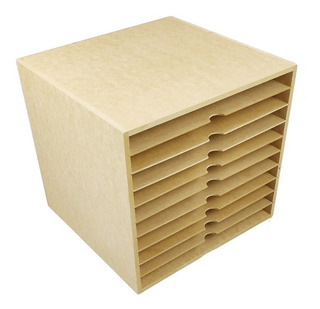 Organizador Para Hojas De Scrapbook, Papeles De Mdf Art2819