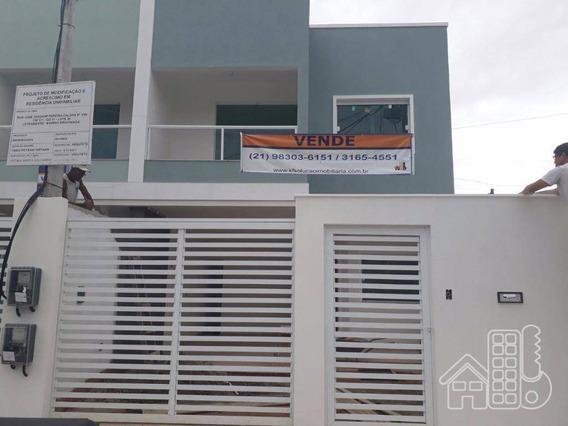 Casa 4 Quartos 1º Locação Em Piratininga - Ca0283