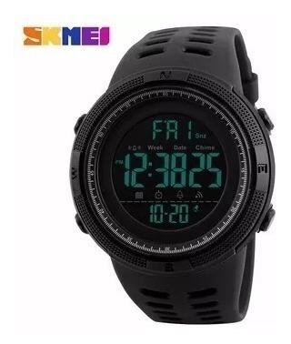 Kit Com 2 Relógio Digital Prova D Agua Skmei 1251