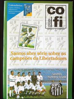 Revista Cofi Nº 185 Ano 2001 Santos Futebol