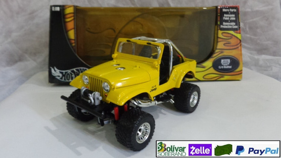Cj5 Jeep Escala 1/18 (hot Wheels) - Exclusivo