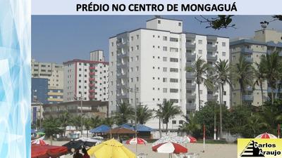 Apartamento No Centro De Mongaguá - Em Frente Ao Mar