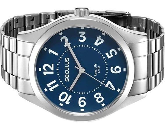 Relógio Seculus Masculino Long Life 28866g0svna1 Original