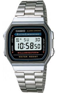 Reloj Casio Clasico Digital Plateado