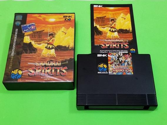 Samurai Shodown 1 Original Neo Geo Aes Japonês Completo.