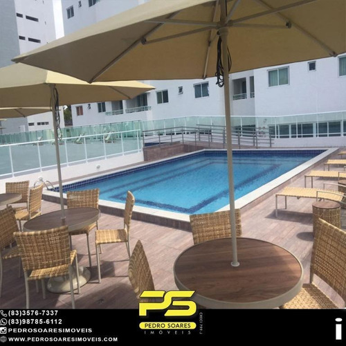 Imagem 1 de 10 de Apartamento Com 3 Dormitórios À Venda, 102 M² Por R$ 650.000 - Miramar - João Pessoa/pb - Ap4867